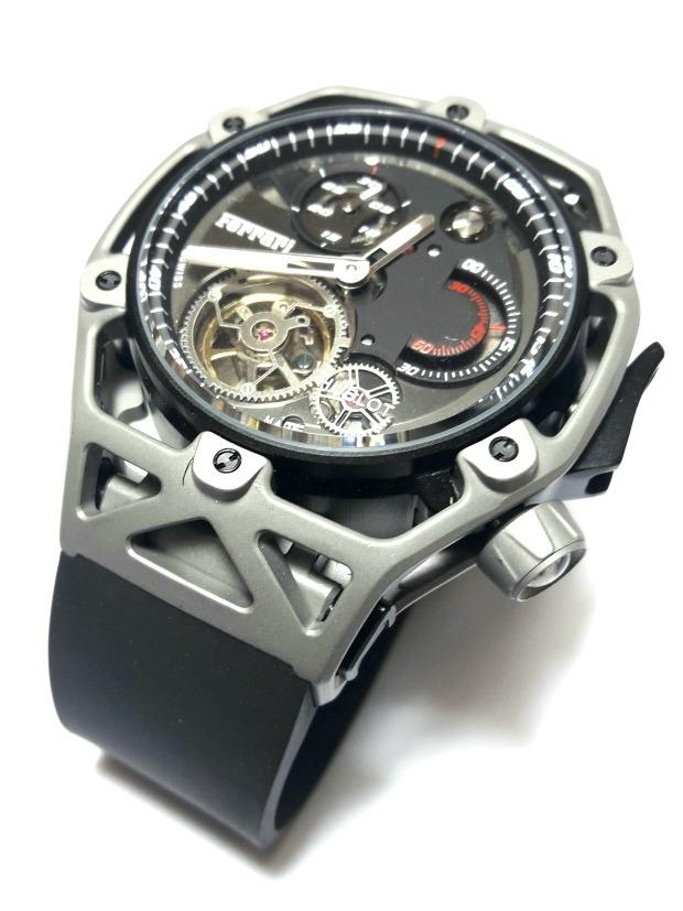 086c95a55ec relógio hublot ferrari tourbillon techframe automático. Carregando zoom.