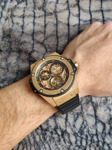 relógio hublot geneve edition tourbilion automático