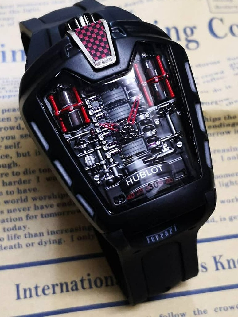 fbc61ce23f3 Relógio Hublot Laferrari Mp-05 Edicão Limitada + Caixa Luxo - R  399 ...