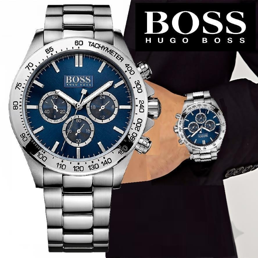 6a75e6f1303 Relógio Hugo Boss Ikon Cronógrafo Masculino