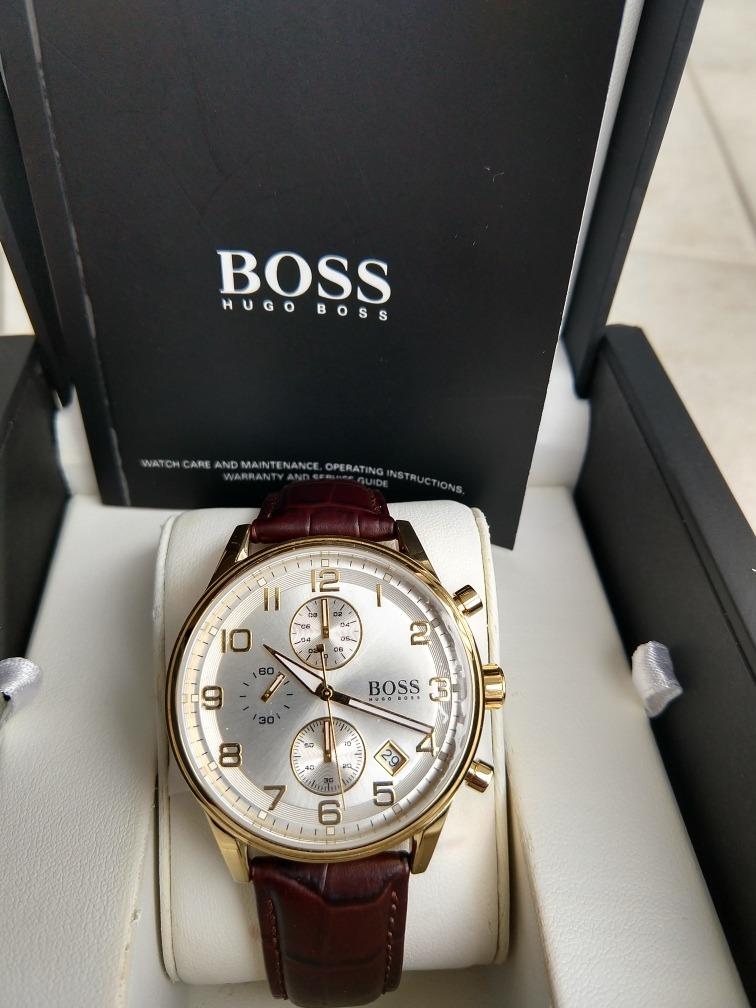 fda43bddae7 relógio hugo boss original importado suíça sem uso. Carregando zoom.