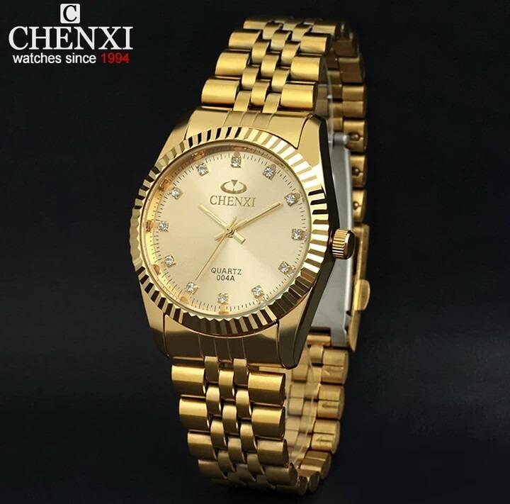 be3b63d9381 Relógio Importado Chenxi Feminino No Brasil Frete Gratis - R  113