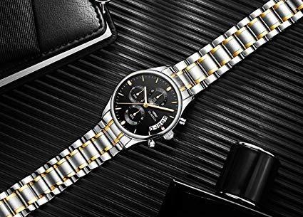 relógio importado olmeca masculino anti-risco blindado luxo