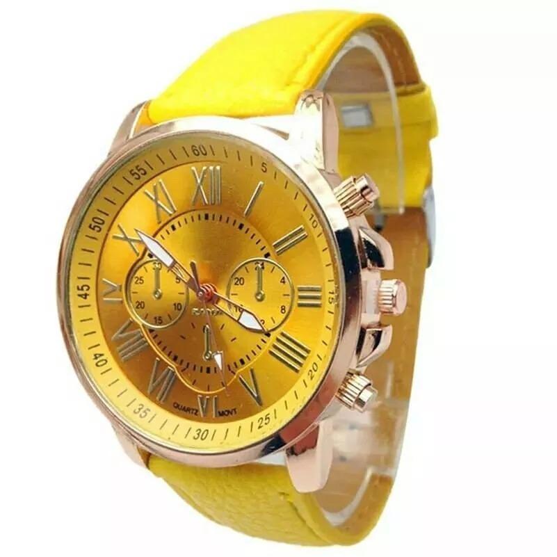 a074e9bb413 Relógio Importado Original I Luxo-geneva- Feminino-luxo - R  19