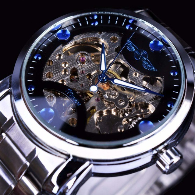 756729ba539 Relógio Importado Original Masculino Aço Inox Automático - R  160