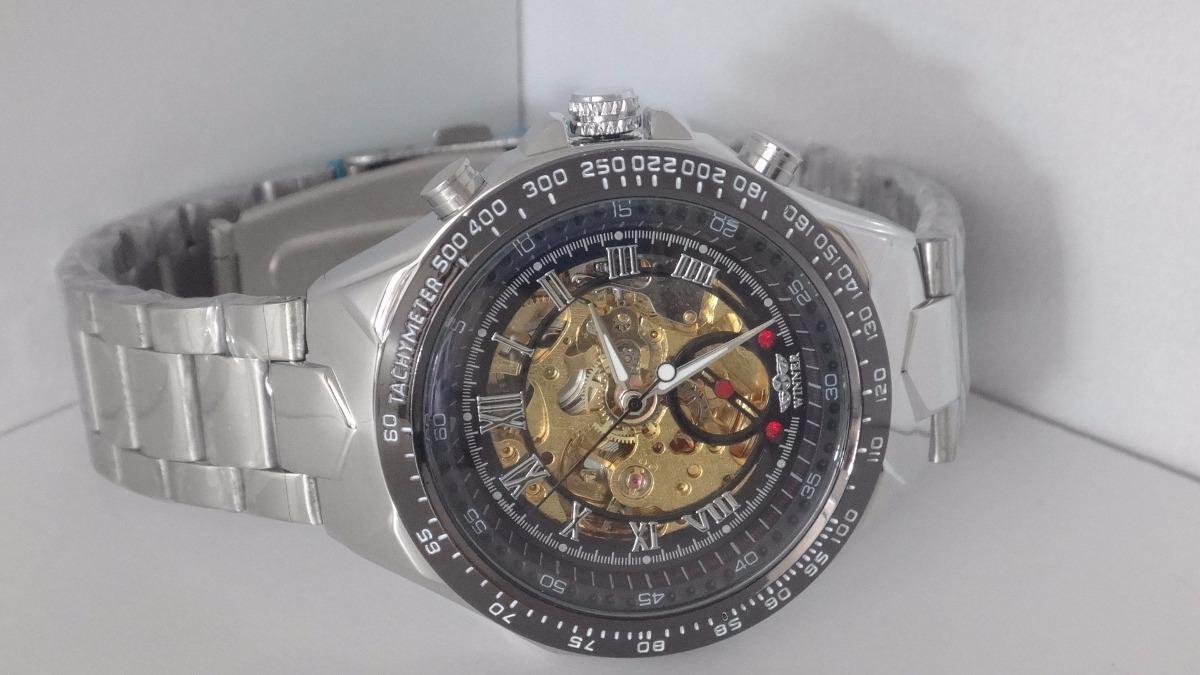 4d8e4918b70 relógio importado original masculino automático aço inox. Carregando zoom.