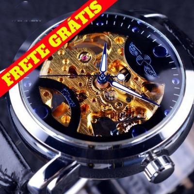 7a2d79001c116 Relógio Importado Original Winner Corda Oferta Frete Grátis - R  180 ...