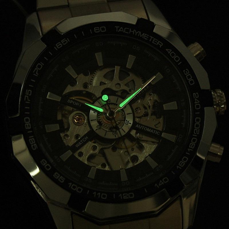 19793a7a74c relógio importado winner skeleton automático super oferta. Carregando zoom.