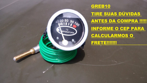 relógio indicador temperatura caminhonete d10 d20 c20 c14