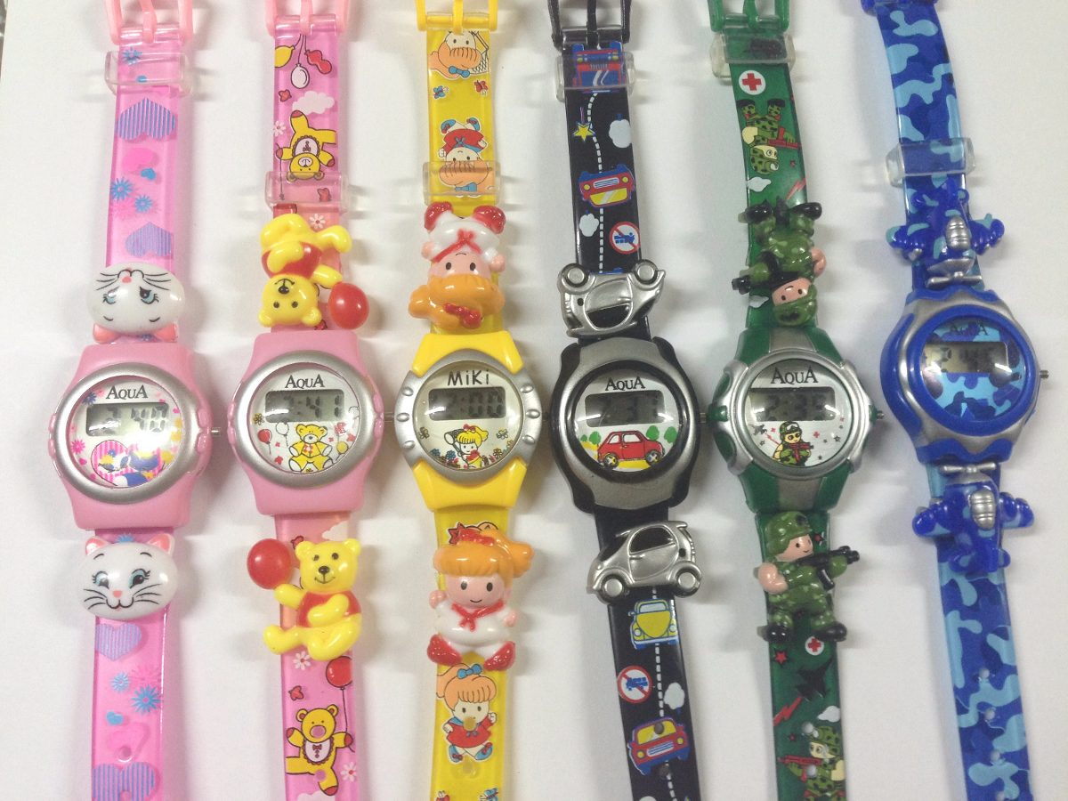 404c9c82b Relógio Infantil Digital Menina E Menino Sortidos 6 Unidade - R$ 69 ...