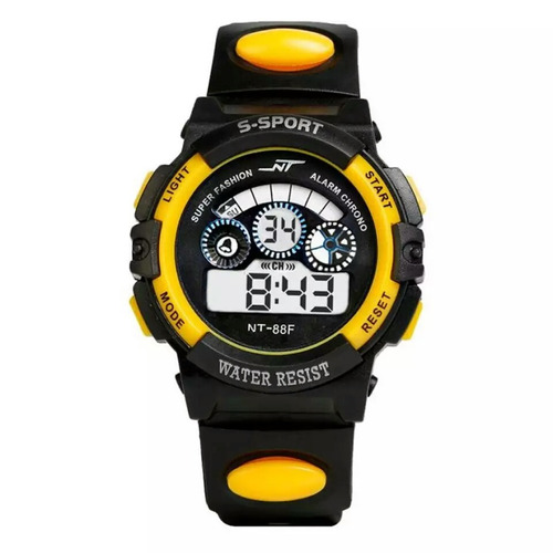relógio infantil esportivo digital com led sports unissex