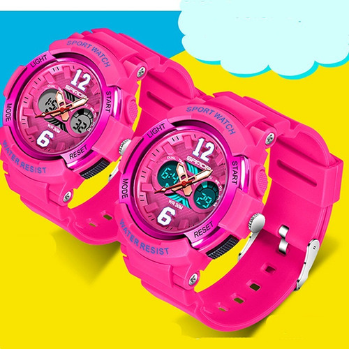 relógio infantil feminino analogico esportivo