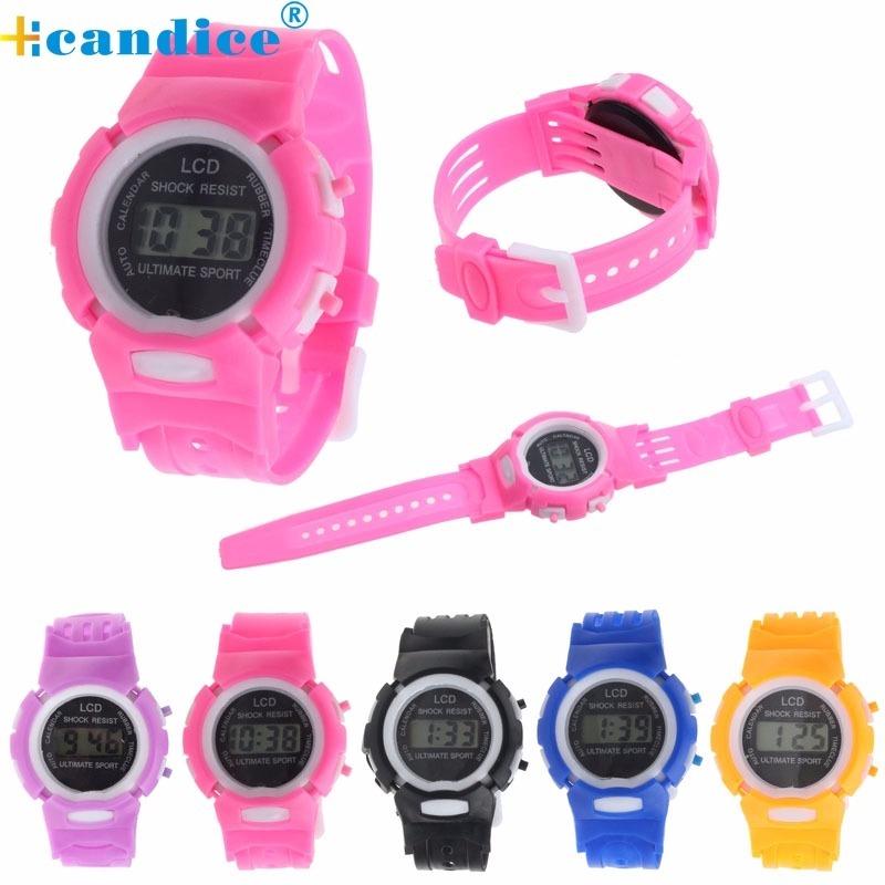79bfc33dc relógio infantil menino e menina, digital, barato. Carregando zoom.