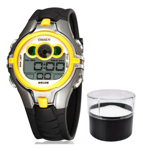 relógio infantil ohsen original modelo ad0739 prova d'água