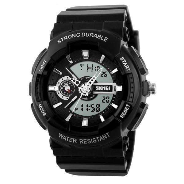 e83fed7dd Relógio Infantil Skmei Anadigi 1052 Pt - R$ 89,99 em Mercado Livre