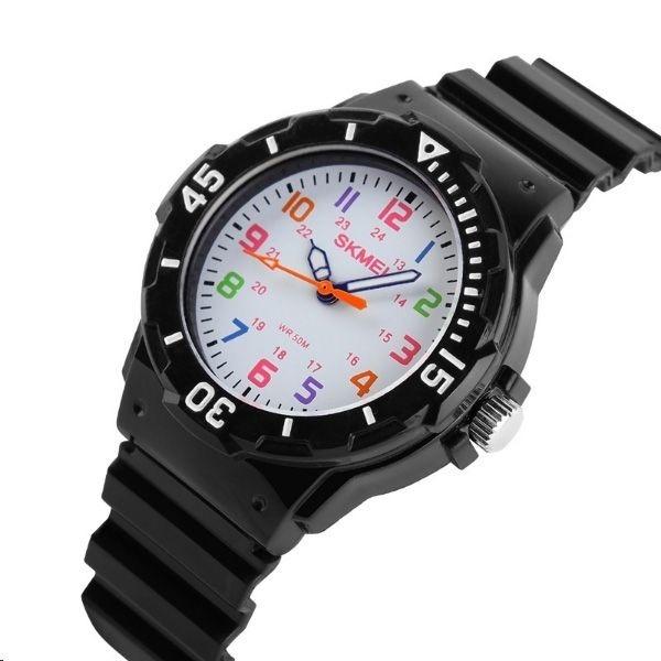 bc54b5d6888 Relógio Infantil Skmei Analógico 1043 Preto - R  50