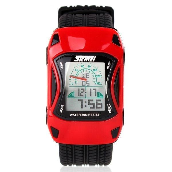 67c3a98667d Relógio Infantil Skmei Digital 0961 Vermelho - R  58