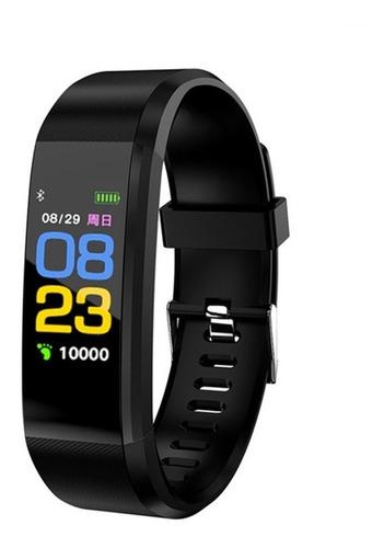 relógio inteligente id115 plus monitor cardíaco pressão