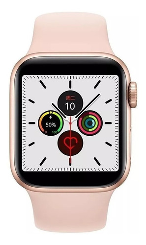 relógio inteligente iwo12 smart pedômetro e cronômetro