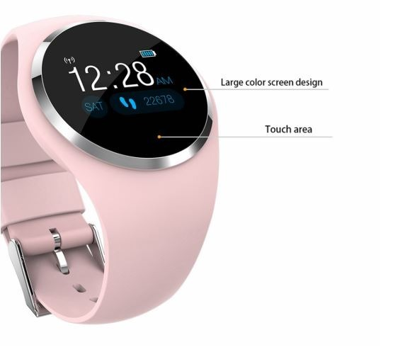 Relógio Inteligente Newwear Q1 Smartwatch Com Tela Colorida - R  200 ... ae440815a685d
