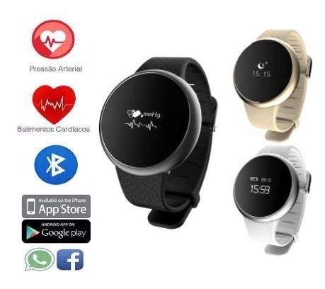 67c31c19a6c Relógio Inteligente Pressão Sanguínea Batimentos Cardíacos - R  228 ...