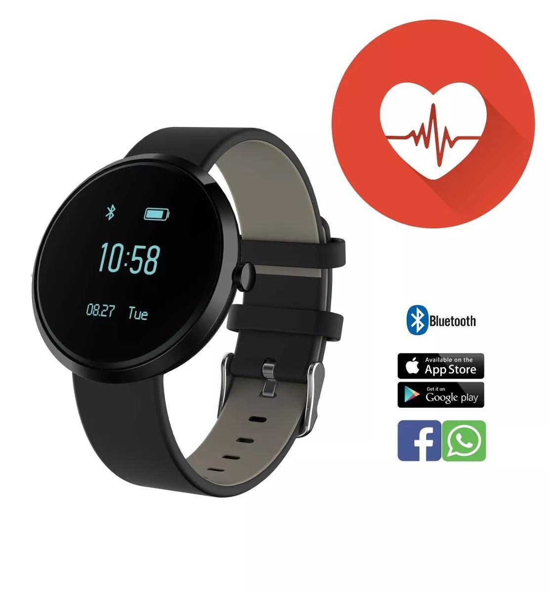 09769b1ec36 Relógio Inteligente Pressão Sangüínea