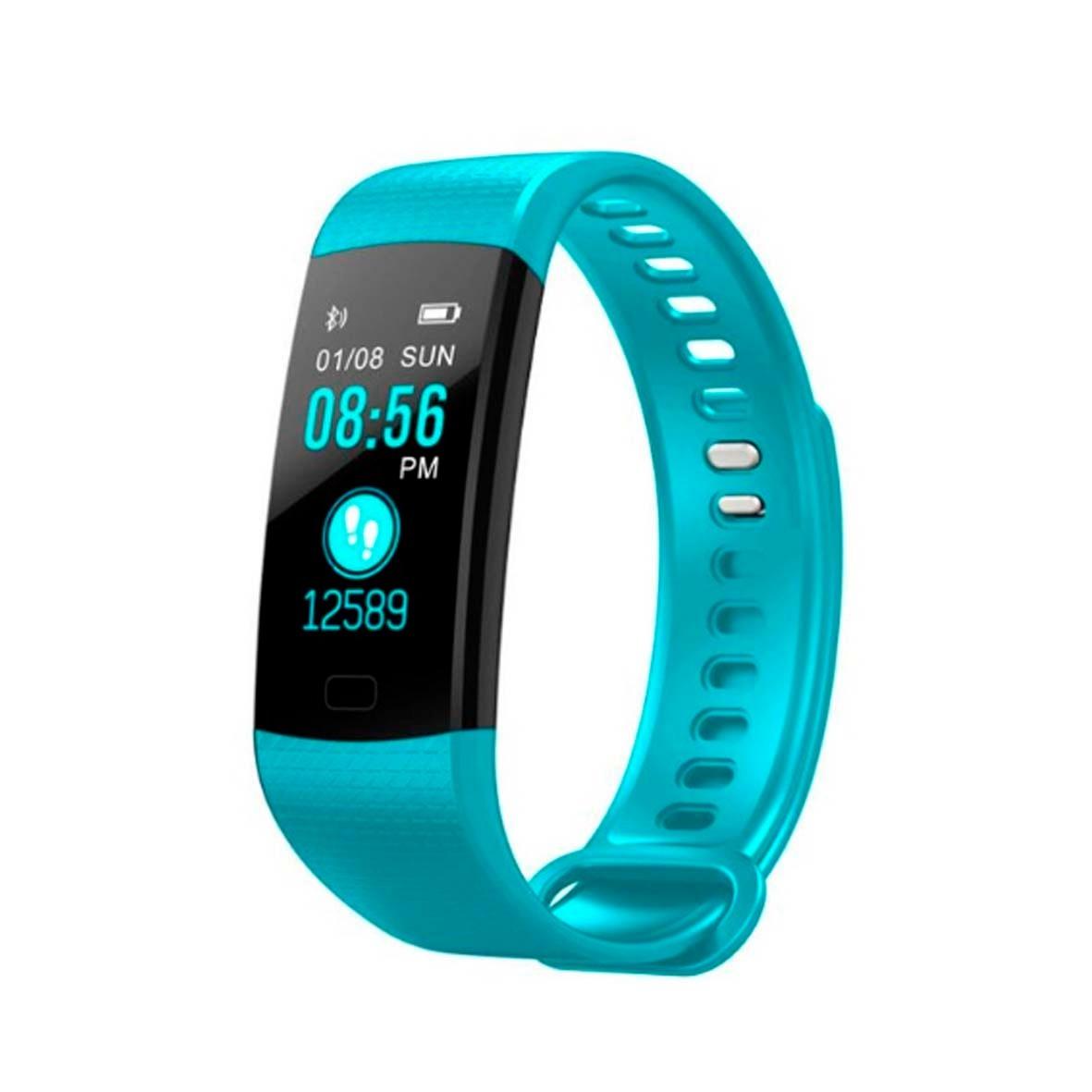 66e8942a0e2 relógio inteligente pulseira smart y5 usb melhor que mi band. Carregando  zoom.