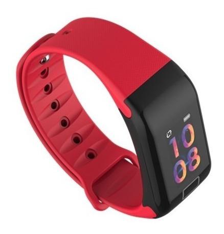 relógio inteligente pulseira smartband f1 plus