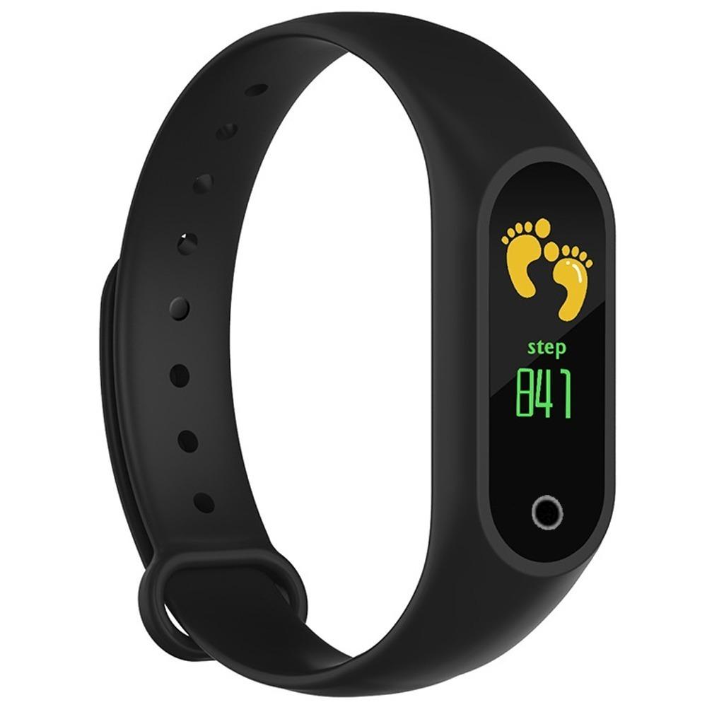 e179531e659 relógio inteligente smartband m3 bat cardíacos tela colorida. Carregando  zoom.