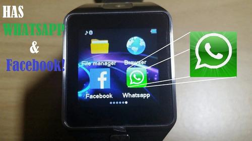 relógio inteligente smartwatch para android e ios