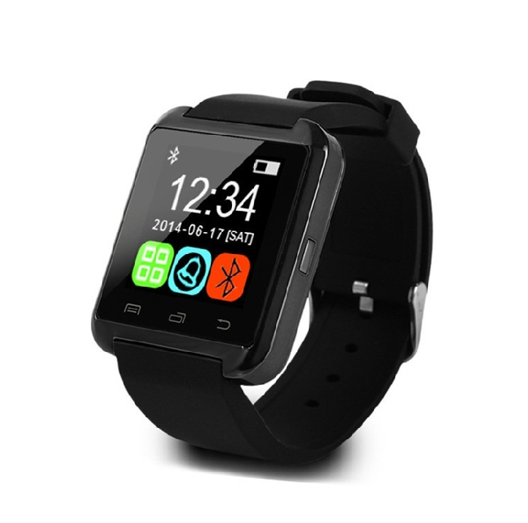 bc9fa0432d1 Relógio Inteligente Smartwatch U8 Bluetooth Touch Android - R  89