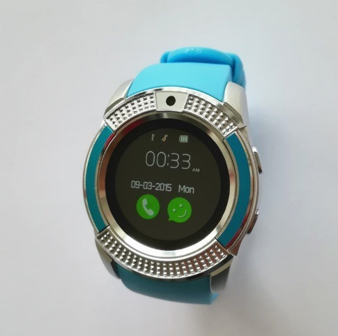 6aa0191d07a Relogio Inteligente Smartwatch V8 Android Ios Bluetooth - R  89