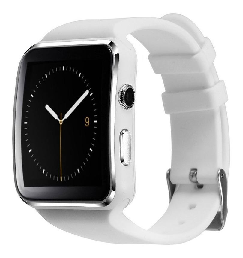 Relógio Inteligente Smartwatch X6 Bluetooth Sedentário Video