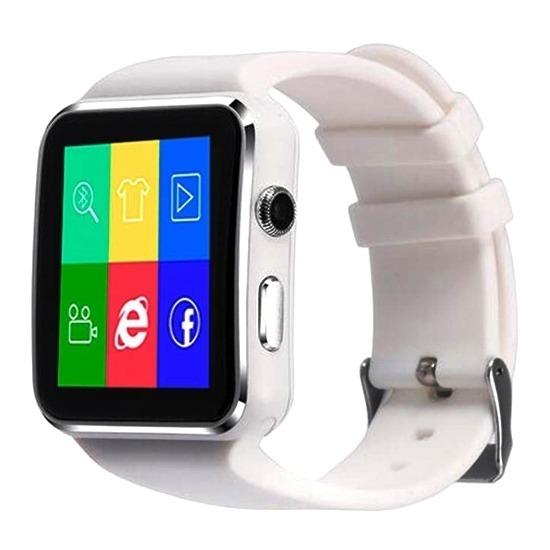 d1bd6b29e9f Relógio Inteligente Smartwatch X6 Bluetooth Sedentário Video - R ...