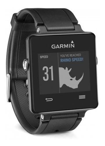 relógio inteligente vivoactive garmin gps natação bike music