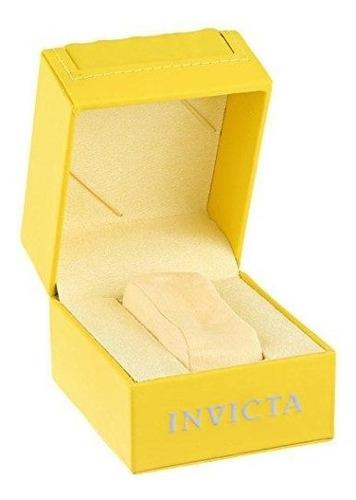 relógio invicta 0073 pró  diver 18k banhado a ouro