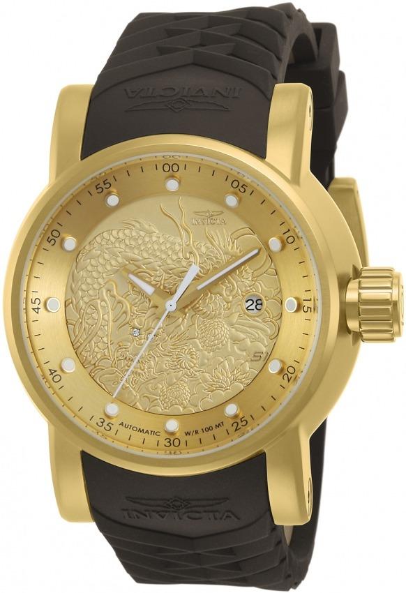 7a3b1ef2058 Relógio Invicta 12790 Yakuza Automático Banhado Ouro 18k - R  2.295 ...