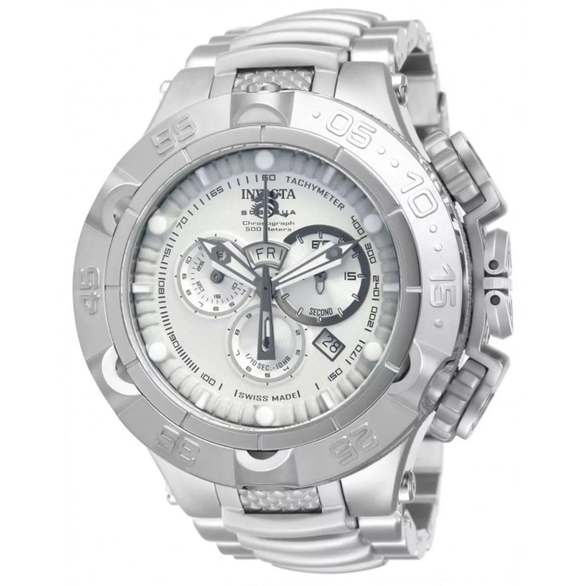 b99af7cfab5 relógio invicta 12886 subaqua noma v prata drt6509 promoção. Carregando  zoom.