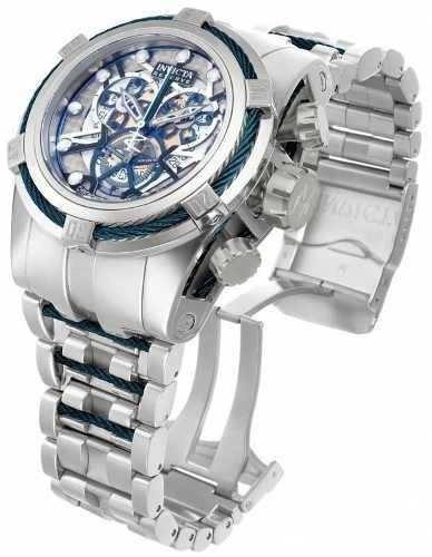 relógio invicta 13751 reserve bolt zeus skeleton