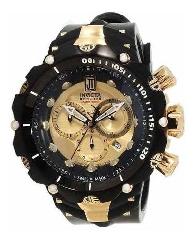 relógio invicta 14416 venom reserve jason taylor