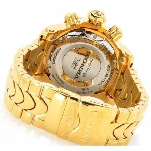 f1d630484f6 Relógio Invicta 14503 Reserve Venom Dourado Frete Grátis. - R  899 ...