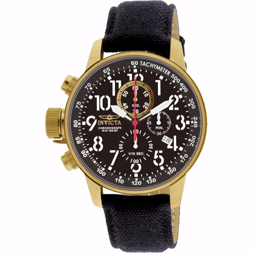 23f4b0c22f9 relógio invicta 1515 i-force collection ouro 18k original. Carregando zoom.