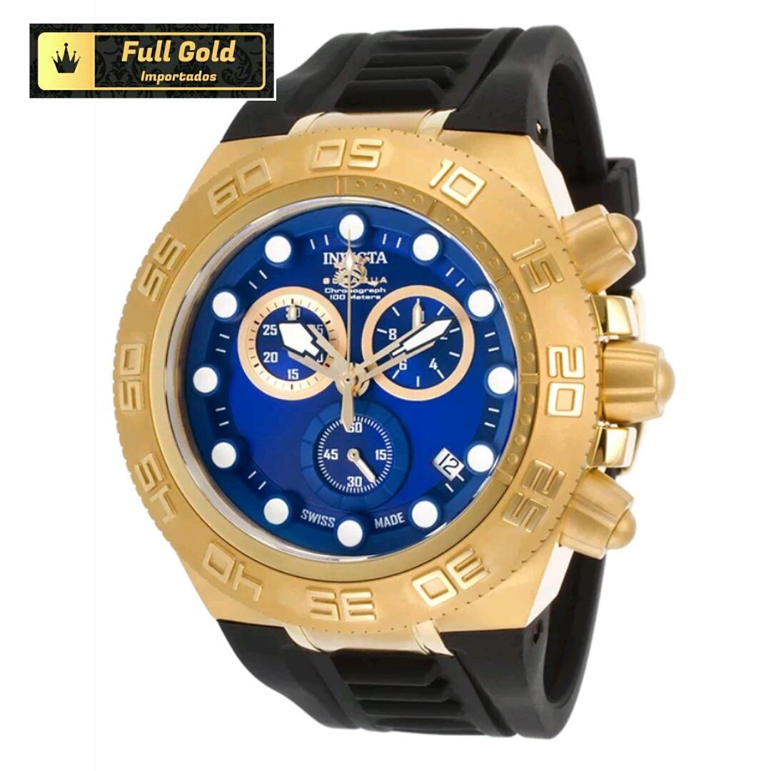 78deca52632 Relógio Invicta 15580 Subaqua - Original - Único No Brasil - R ...