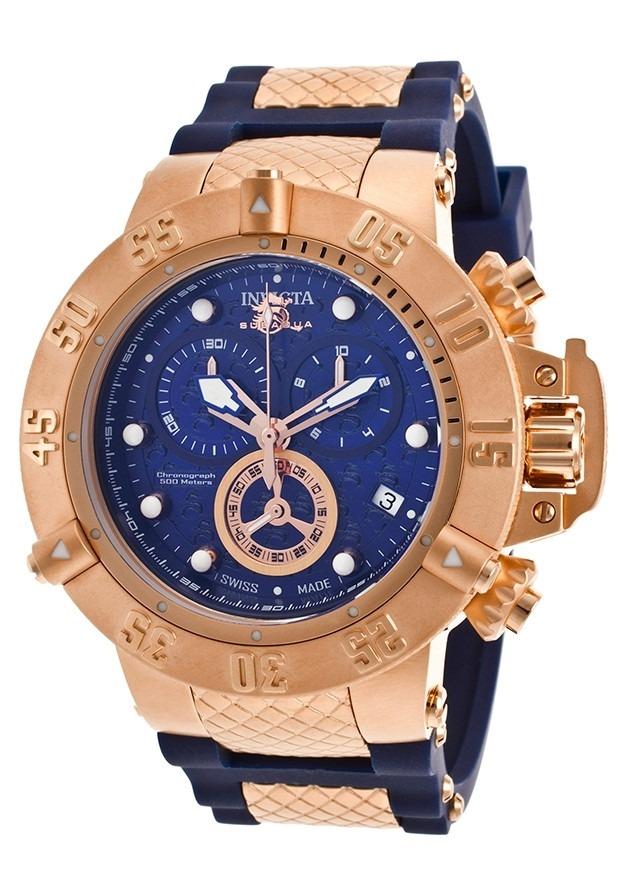 e2d1189377d relógio invicta 15804 ourorosê subaqua noma 3 iii original ! Carregando  zoom.
