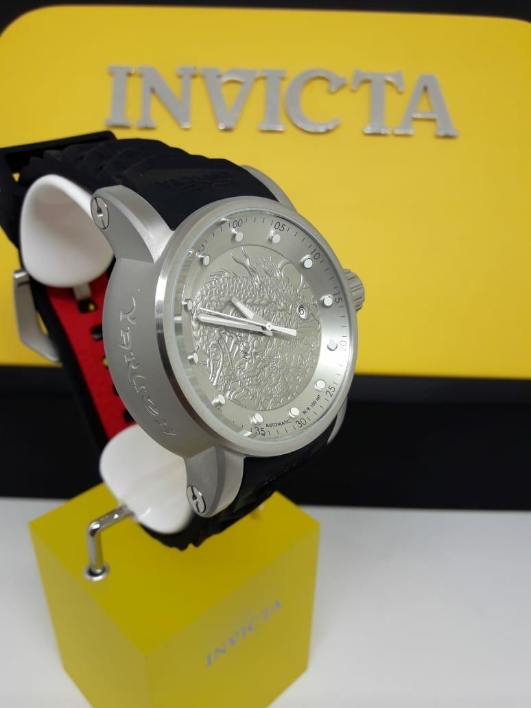 051925fab59 relógio invicta 15862 yakuza s1 rally automático prata pulse. Carregando  zoom.