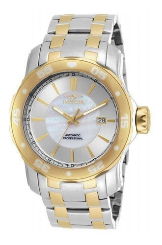 relógio invicta 16272 - banhado a ouro 18k - frete gratis -