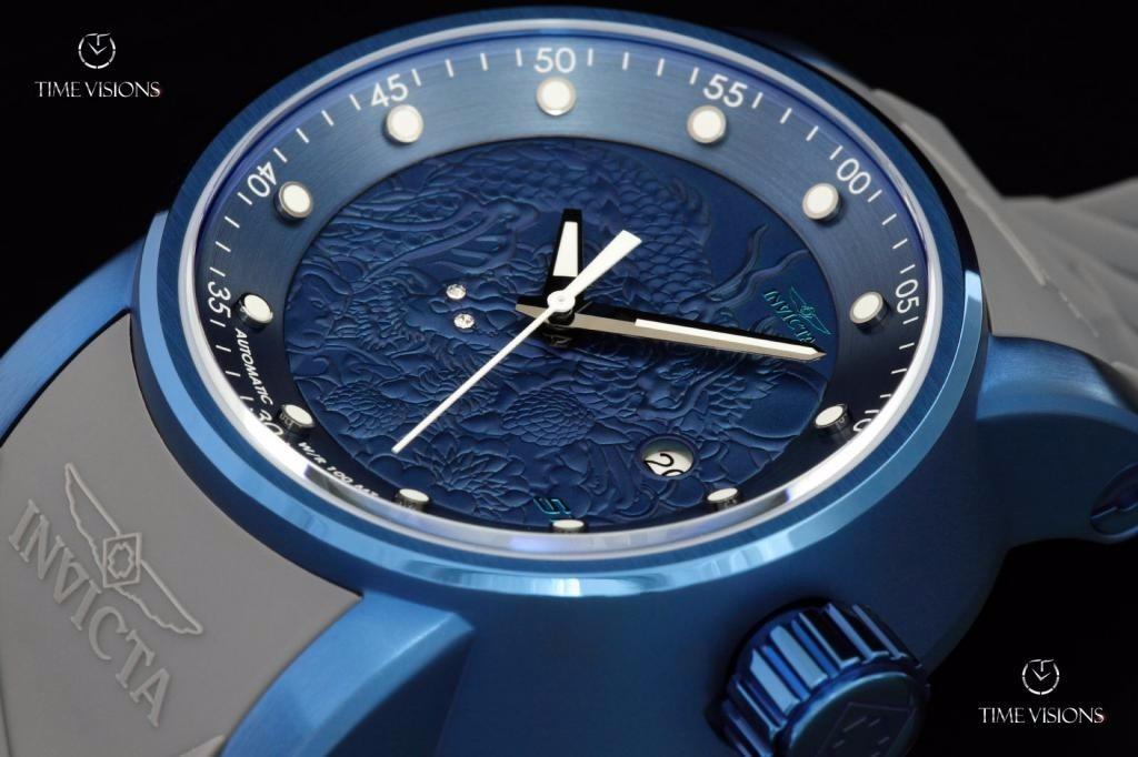 6aba2a341bb relógio invicta 18214 s1 rally yakuza dragon automático. Carregando zoom.
