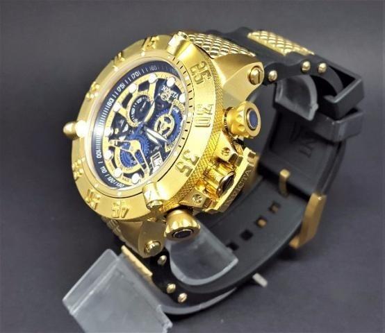 b38bbd00270 Relógio Invicta 18526 Skeleton Subaqua Preto Original 057 - R  318 ...