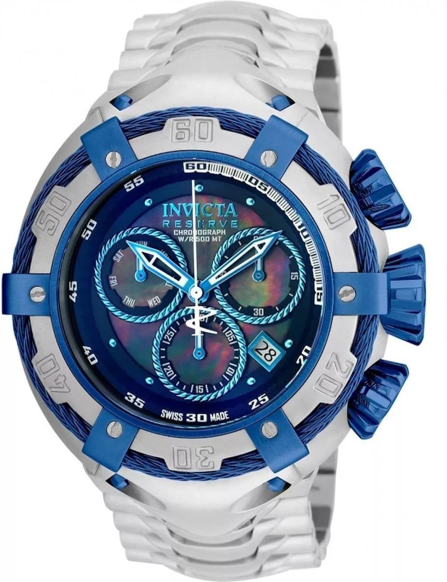 d9a4454409c relógio invicta 21357 thunderbolt azul prata top promocional. Carregando  zoom.