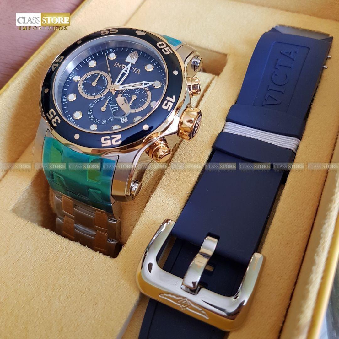 7f675221c0f relógio invicta 23668 pro diver troca pulseira 0077 original. Carregando  zoom.